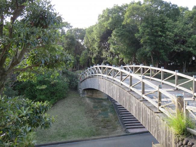bridge on Minamata seaside, Japan