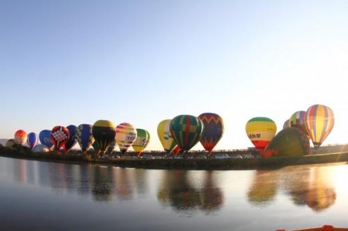 Beautiful Saga international balloon festival