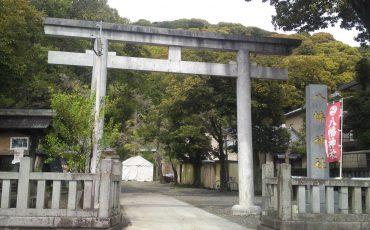 Japanese Shinto shrines, torii,Hachiman Shrine