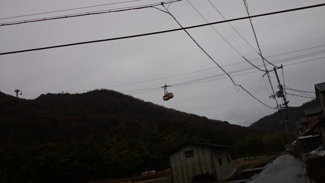 Himeji Shoshasan gondola ascent sans hiking