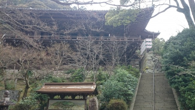 Niomon temple along Himeji Shoshasan hiking trail