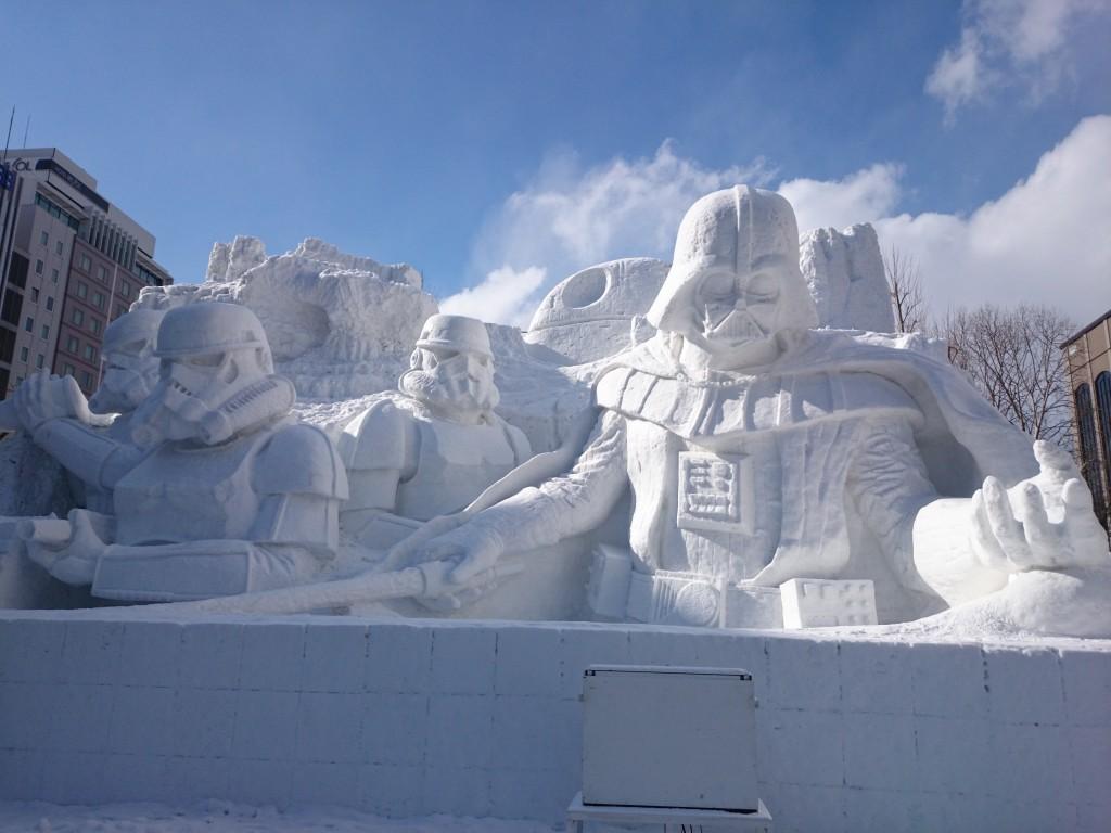 Sapporo,Snow,Festival,Ice,Sculpture