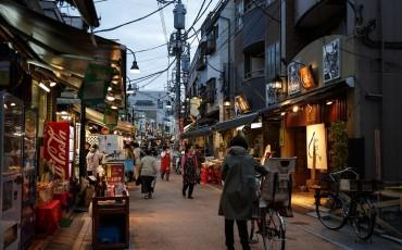 walk, tokyo, street, bicycle, traditional