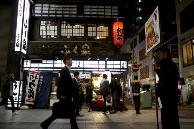 Shimotori Shopping arcadein Kumamoto also offers plenty of Japanese restauraunts
