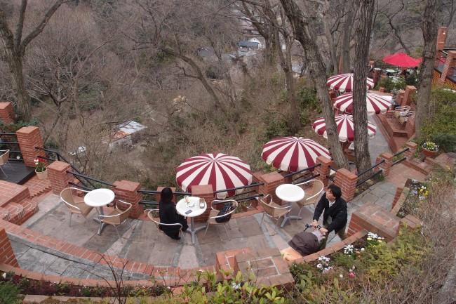 Green as surroundings, Cafe Itsuki, Daibutsu hiking trail, Kamakura