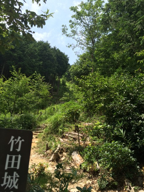 Takeda castle hiking route, the Hyogo outdoors