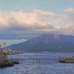 Japan's Former Island Volcano at Sakurajima