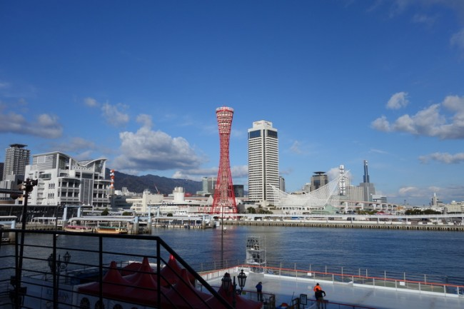 Beautiful seaside of Kobe