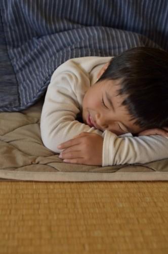 Kids love Kotatsu!