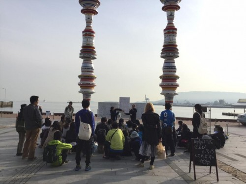 Koebi Tai is a group of dedicated volunteers for the Setouchi art festival in Japan, support artists from around the world and prepare for the art festival