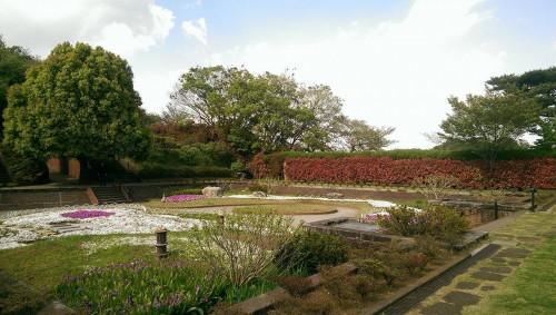 Park near Tamagawa river.