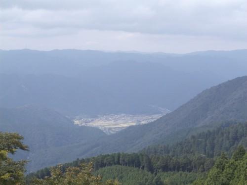 mountain landscape view near the top of Hiei, home to Enryaku-ji Temple