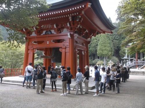 shrine structure in Hiei, home to Enryaku-ji Temple