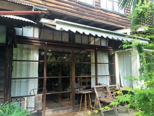 exterior of cafe in Kamakura