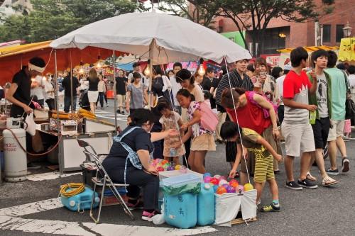 Rokugatsudo, festival, matsuri, Kagoshima, yukata, kimono, hanabi