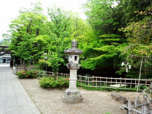 the old town Matsushiro in Nagano City, Japan.