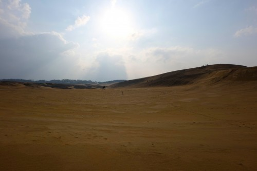 The vast and beautiful Tottori Sand Dune