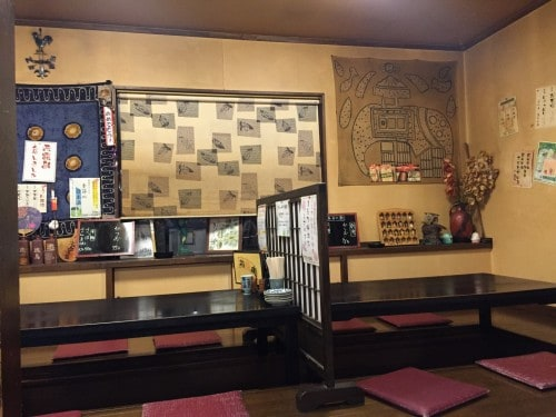 Yucho also has traditional style low tables.