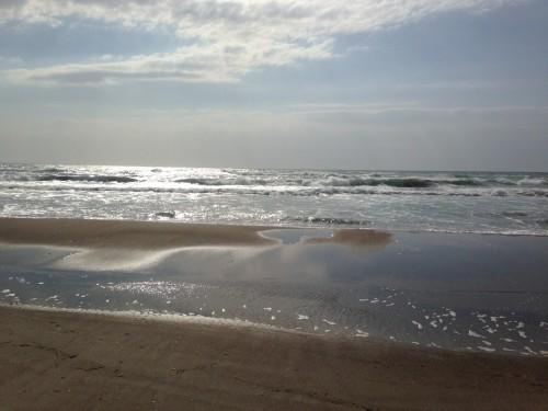 beach close to Nishihama campsite