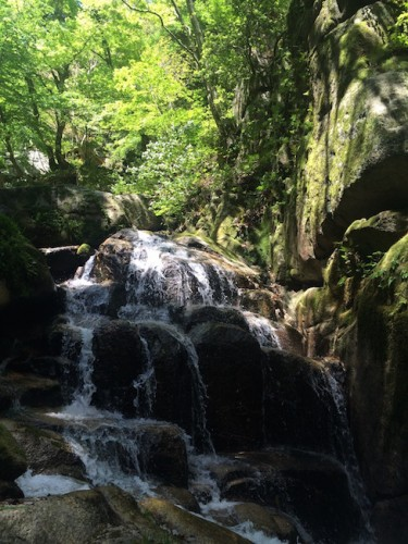 water streams makes you feel calm and peaceful