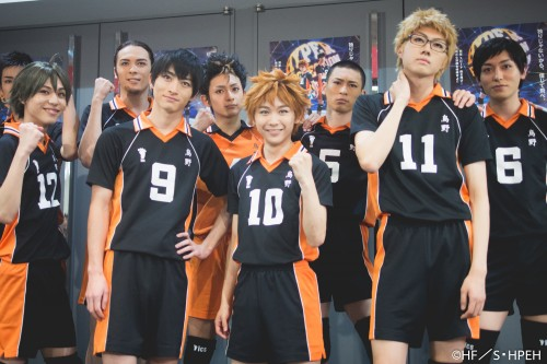 They are the members of Haikyuu