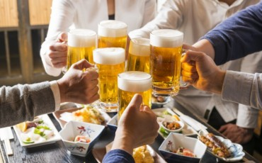 Kansai , a typical word when Japanese have a toast!