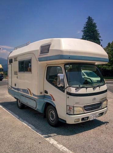 Camper van rent by Camp-in-car!