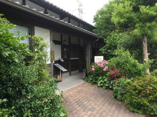 Green tea house reflects the history of cultivation of green tea