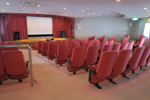 You'll surprised to see the theater room is in ferry