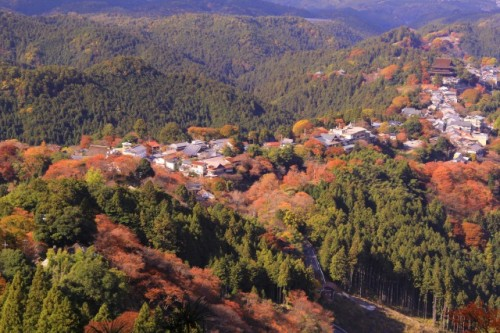 Yoshino, a world heritage side in Nara