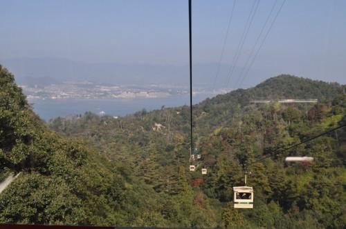 Mt. Misen gondola ropeway