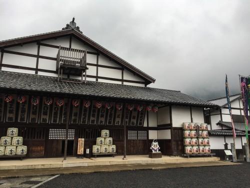 Kabuki Theater Kagawa, Shikoku, Japan