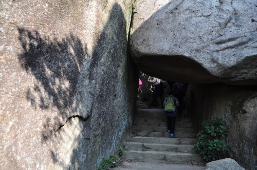 The Hiking trail at Mount Misen, Miyajima