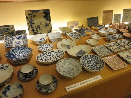 Colours and designs of Arita ceramics
