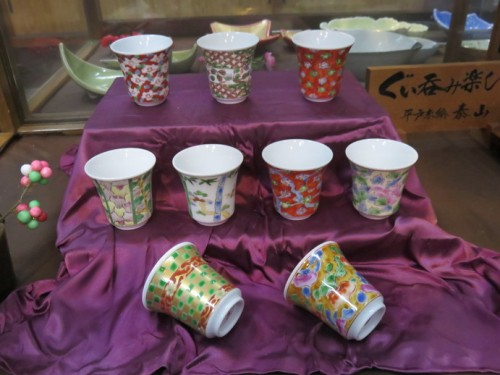 While there are plenty of high cost ceramics on sale, these smaller items range from around 300-500 yen.
