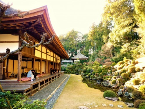 Ryutanji's garden