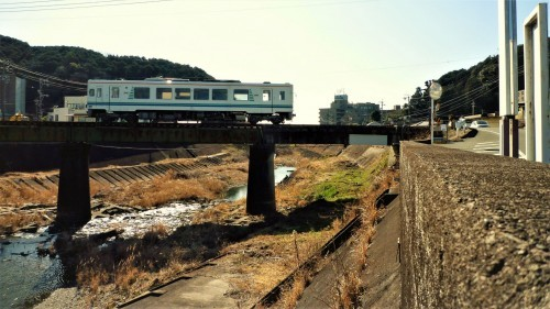 Tenryu Hamanako's tiny train