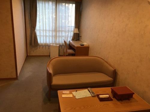 The western styled room in Yahata-ya.