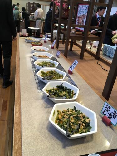 Many kinds of meals are provided at Yahata-ya ryokan.