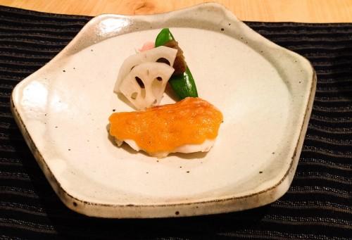 Kaiseki course number four, yakimono.