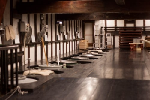 How to make sake in the brewery