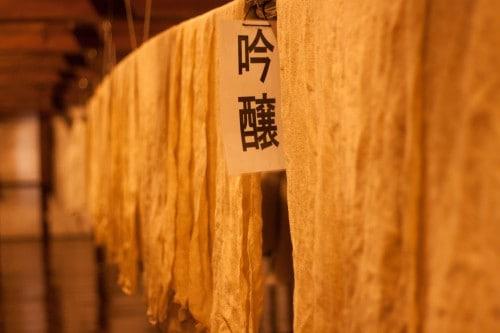 In the Sake brewery of Niida Honke