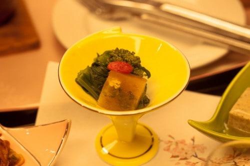 Nice Kaiseki cuisine at Yahata-ya ryokan