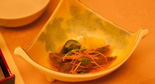 sashimi is so delicious at Yahata-ya ryokan.
