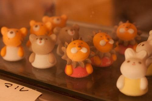animal sweets which I found in Koriyama city