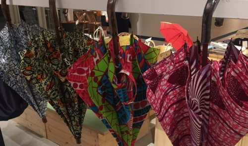 Umbrellas at a store in Kagurazaka