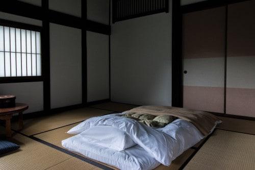 My room was beautiful and simple at Tanekura Inn, Gifu prefecture.