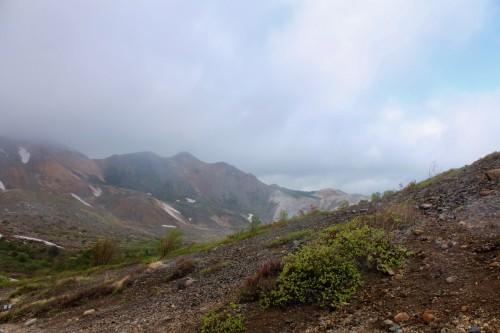 The scenery of Little Fuji, Azumayama, in Fukushima, Japan.