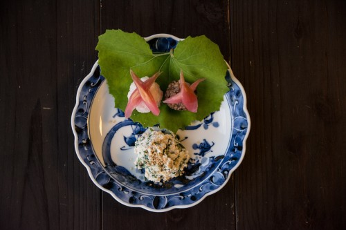 All of the meals were well prepared with local and seasonal products at Tanekura Inn, Gifu prefecture.