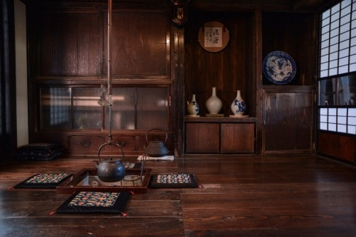Traditional Room in Woodworking Shop
